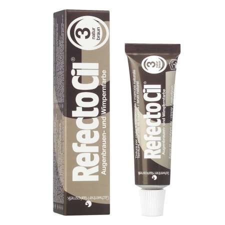 RefectoCil βαφή φρυδιών και βλεφάρων  Natural Brown 3