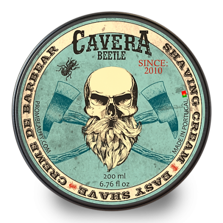 Cavera Beetle Shaving Cream 200ml