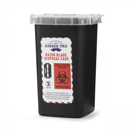 Disposable blades waste container