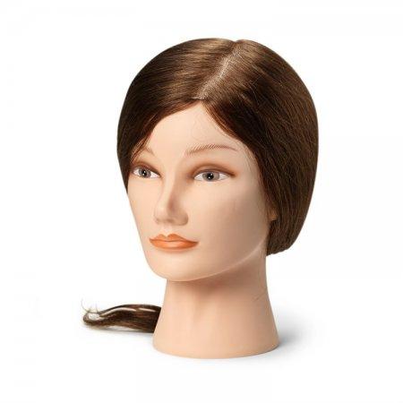 Εκπαιδευτικό κεφάλι Natural Brown 40cm