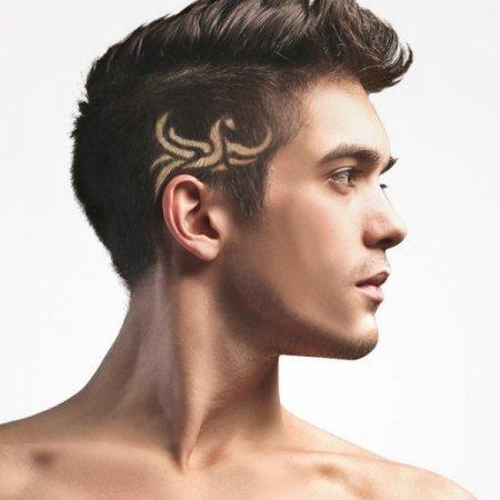 Hair tattoo set 12 σχεδίων