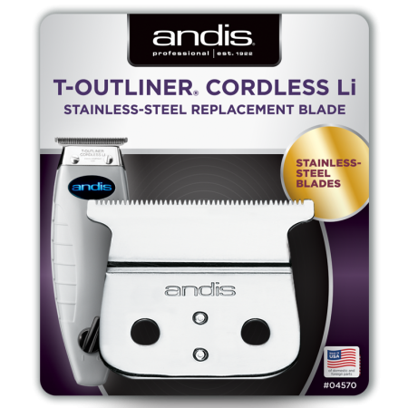 Κοπτικό κουρευτικής μηχανής Andis T-Outliner Cordless