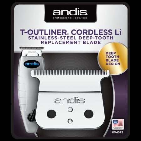Κοπτικό κουρευτικής μηχανής Andis T-Outliner Deep Tooth