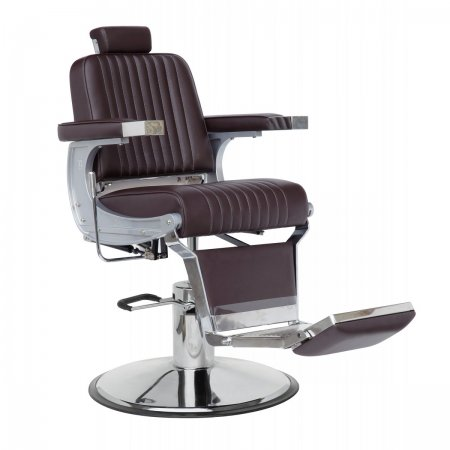 Barber chair Classic Brown